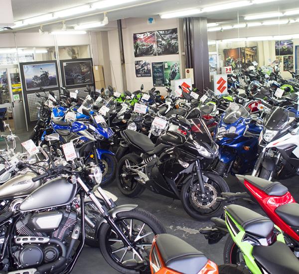 岡山で有数の国内4メーカー正規販売店