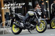 YAMAHA<ヤマハ> MT-25/MT-3 2018年モデル新発売!