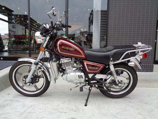 【SUZUKI】希少モデル・GN125-2F入荷いたしました【スズキ】4