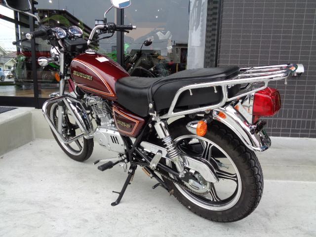 【SUZUKI】希少モデル・GN125-2F入荷いたしました【スズキ】6