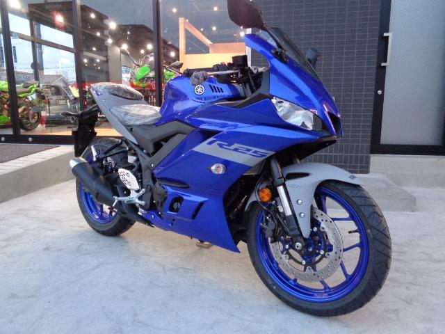 【ヤマハ】YZF-R25 2020年モデル販売開始!【ニューカラー】