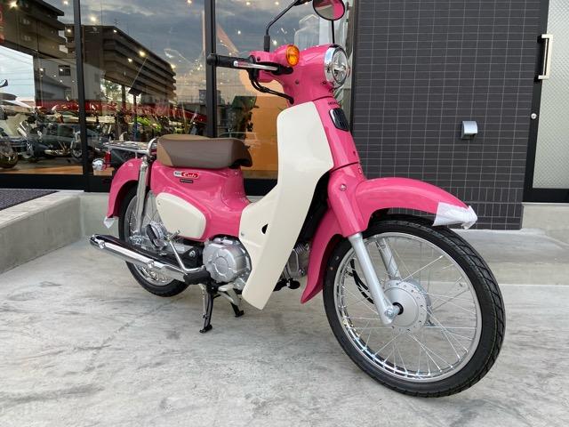ホンダ スーパーカブ110 『天気の子』Ver.サマーピンクが入荷致しました♪